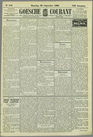 Goessche Courant 1929-09-30