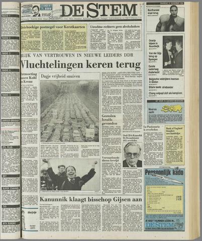 de Stem 1989-11-13