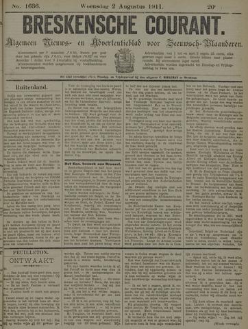 Breskensche Courant 1911-08-02