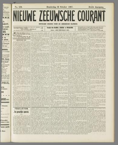 Nieuwe Zeeuwsche Courant 1907-10-31
