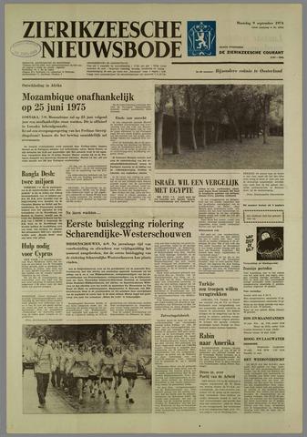 Zierikzeesche Nieuwsbode 1974-09-09