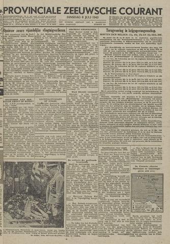 Provinciale Zeeuwse Courant 1943-07-06