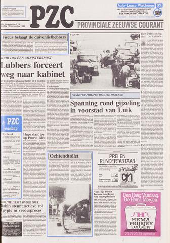 Provinciale Zeeuwse Courant 1989-09-19