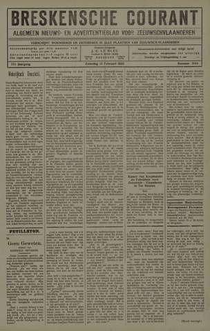 Breskensche Courant 1926-02-13