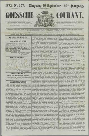 Goessche Courant 1872-09-10