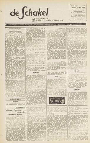 De Schakel 1965-09-17