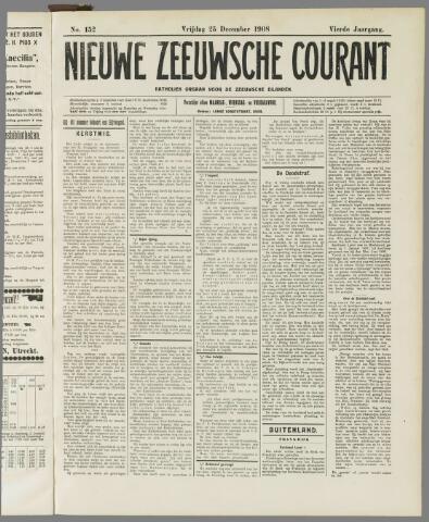Nieuwe Zeeuwsche Courant 1908-12-25
