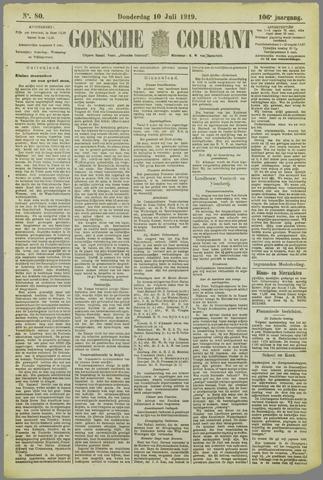 Goessche Courant 1919-07-10