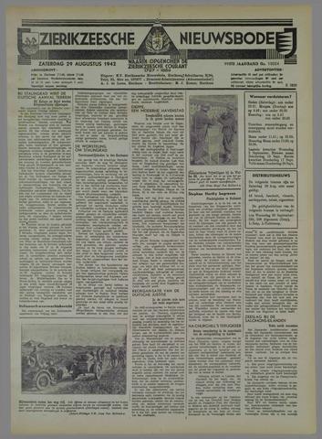 Zierikzeesche Nieuwsbode 1942-08-29