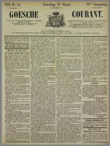 Goessche Courant 1881-03-19