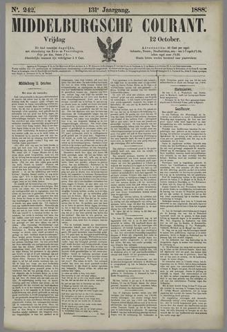 Middelburgsche Courant 1888-10-12