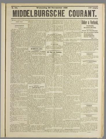 Middelburgsche Courant 1927-11-30