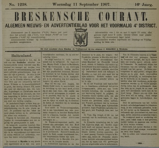 Breskensche Courant 1907-09-11