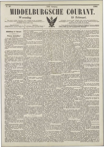 Middelburgsche Courant 1901-02-13