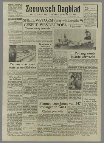 Zeeuwsch Dagblad 1958-02-26
