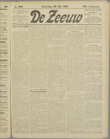De Zeeuw. Christelijk-historisch nieuwsblad voor Zeeland 1915-05-29