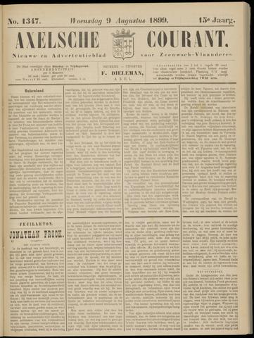 Axelsche Courant 1899-08-09