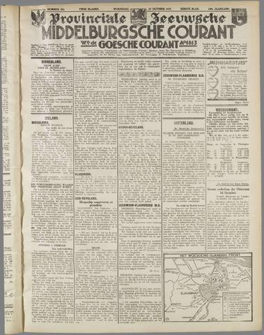 Middelburgsche Courant 1937-10-27
