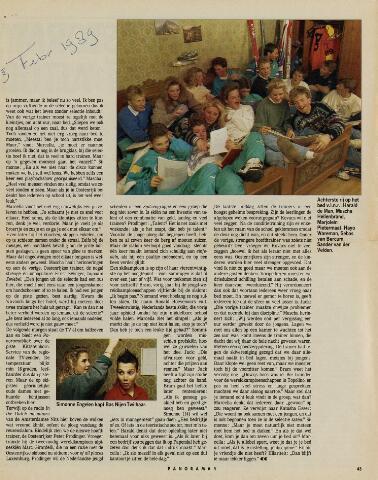 Watersnood documentatie 1953 - tijdschriften 1989-02-03