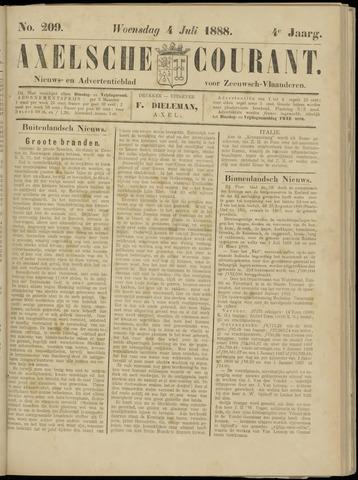 Axelsche Courant 1888-07-04