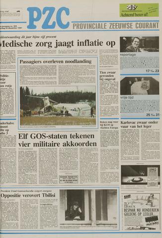 Provinciale Zeeuwse Courant 1991-12-28