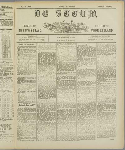 De Zeeuw. Christelijk-historisch nieuwsblad voor Zeeland 1898-12-10