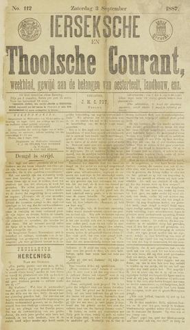 Ierseksche en Thoolsche Courant 1887-09-03