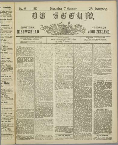 De Zeeuw. Christelijk-historisch nieuwsblad voor Zeeland 1912-10-07