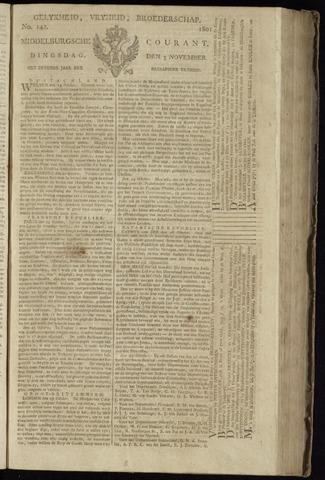 Middelburgsche Courant 1801-11-03