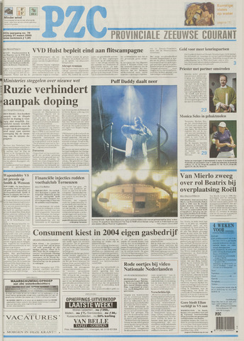 Provinciale Zeeuwse Courant 2000-03-31