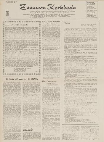 Zeeuwsche kerkbode, weekblad gewijd aan de belangen der gereformeerde kerken/ Zeeuwsch kerkblad 1963-12-20
