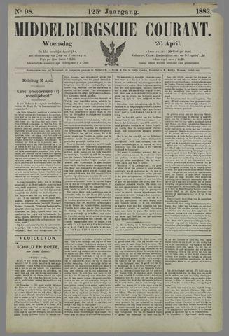 Middelburgsche Courant 1882-04-26