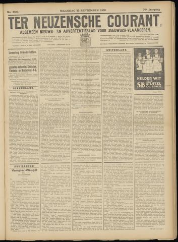 Ter Neuzensche Courant. Algemeen Nieuws- en Advertentieblad voor Zeeuwsch-Vlaanderen / Neuzensche Courant ... (idem) / (Algemeen) nieuws en advertentieblad voor Zeeuwsch-Vlaanderen 1930-09-22