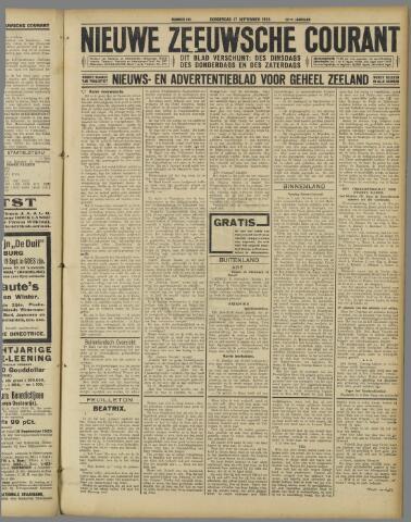 Nieuwe Zeeuwsche Courant 1925-09-17