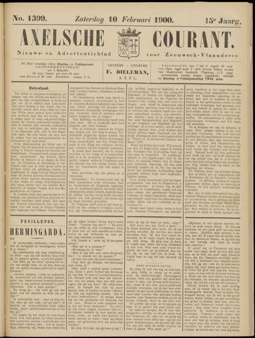 Axelsche Courant 1900-02-10