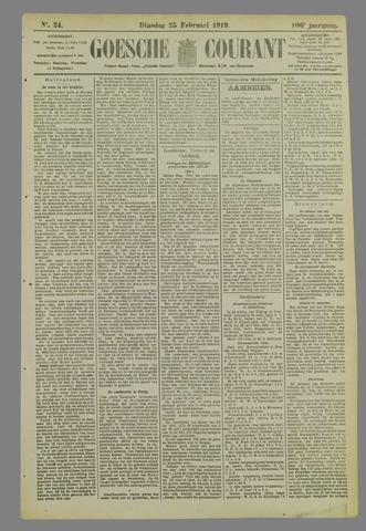 Goessche Courant 1919-02-25