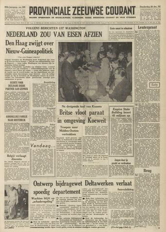 Provinciale Zeeuwse Courant 1961-12-28