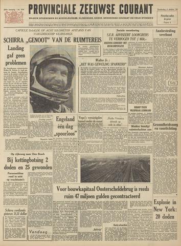 Provinciale Zeeuwse Courant 1962-10-04