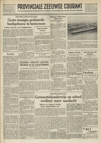 Provinciale Zeeuwse Courant 1952-01-23