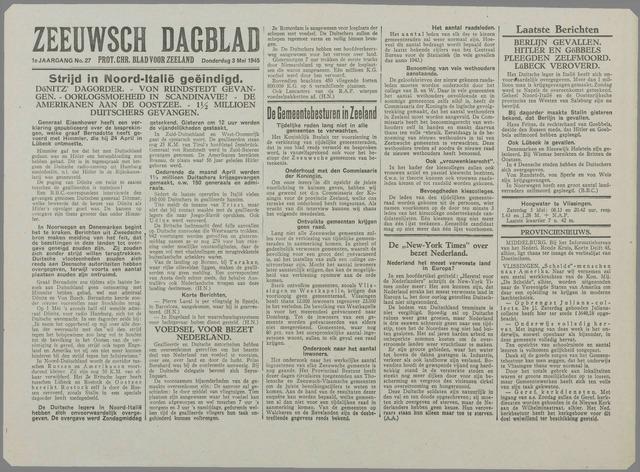 Zeeuwsch Dagblad 1945-05-03