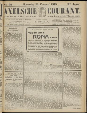Axelsche Courant 1913-02-26