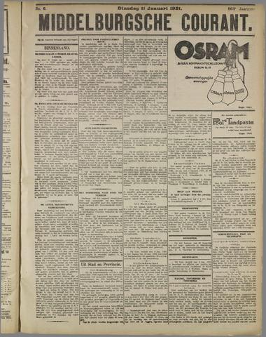 Middelburgsche Courant 1921-01-11