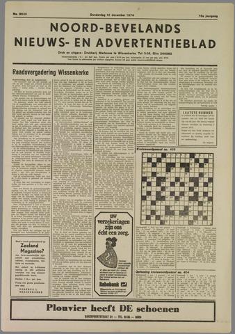 Noord-Bevelands Nieuws- en advertentieblad 1974-12-12