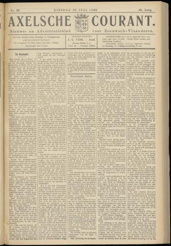 Axelsche Courant 1930-07-22