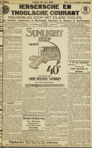 Ierseksche en Thoolsche Courant 1927-06-10