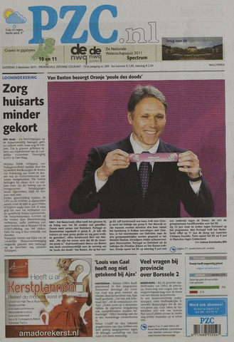 Provinciale Zeeuwse Courant 2011-12-03