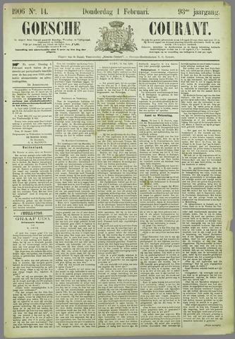 Goessche Courant 1906-02-01