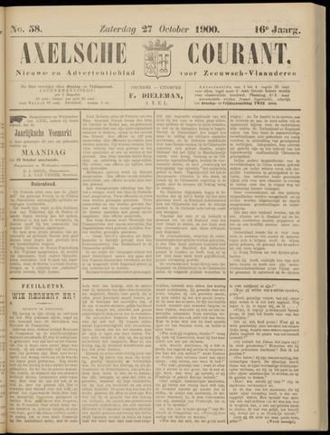 Axelsche Courant 1900-10-27