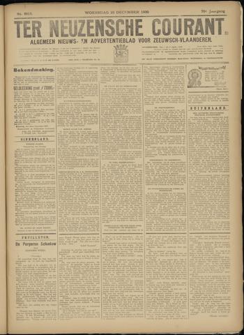 Ter Neuzensche Courant. Algemeen Nieuws- en Advertentieblad voor Zeeuwsch-Vlaanderen / Neuzensche Courant ... (idem) / (Algemeen) nieuws en advertentieblad voor Zeeuwsch-Vlaanderen 1930-12-10