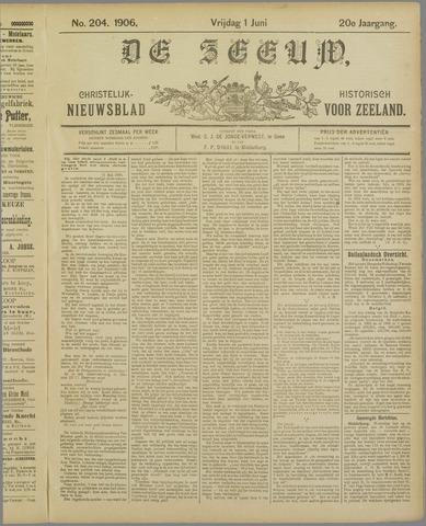 De Zeeuw. Christelijk-historisch nieuwsblad voor Zeeland 1906-06-01